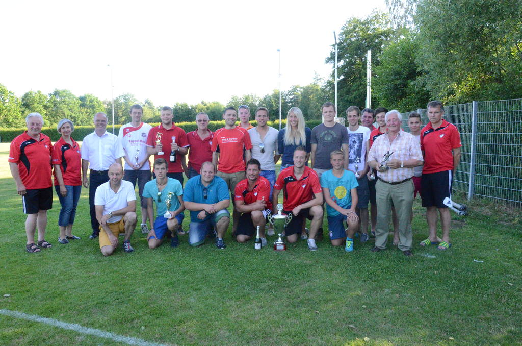Fußballsieger Juli/2014