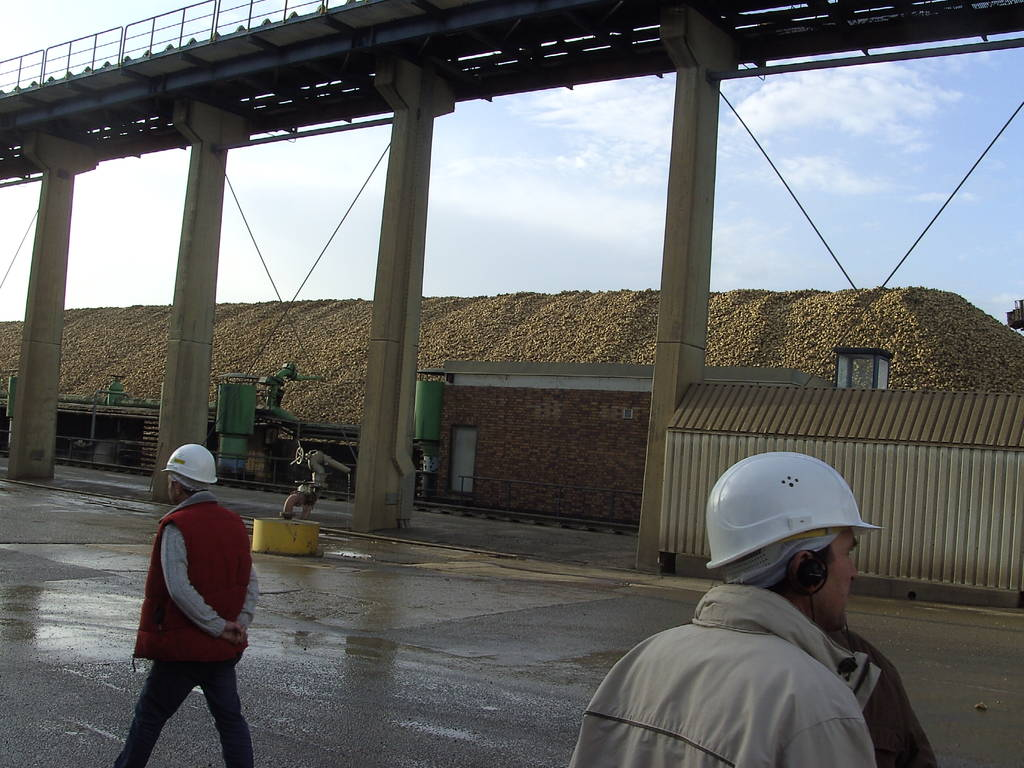 Zuckerrübenfabrik Plattling 2009
