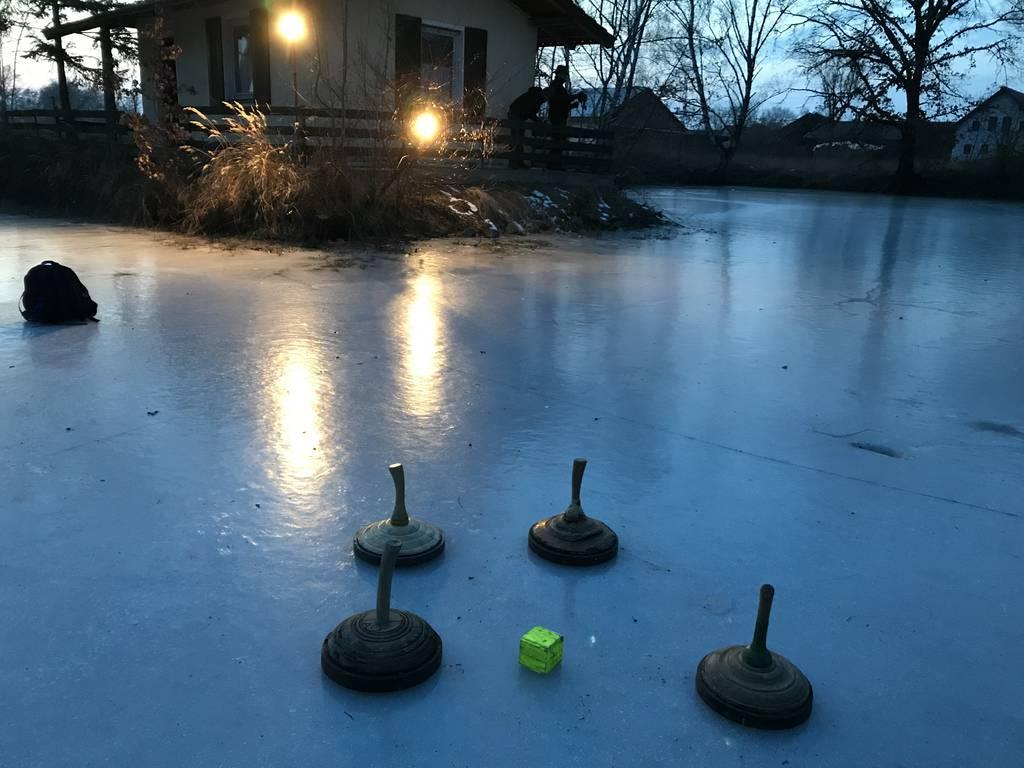 Eisstockschießen 2018